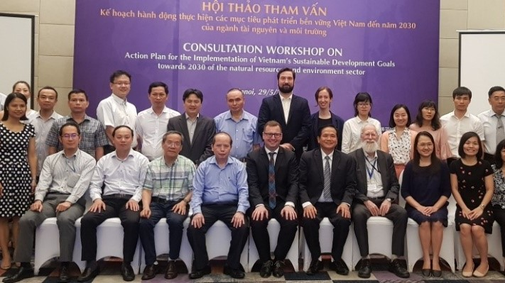 The participants of the consultation workshop