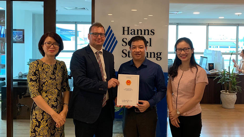 HSF office in Hanoi has been granted its new license.