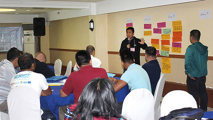 CBD holds Training of Trainers on ESCR for Region VI