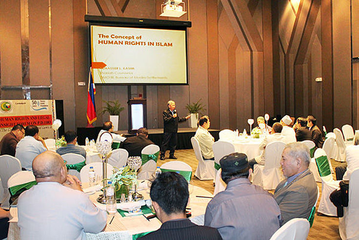 Human Rights and Legal Insight Forum in Quezon City