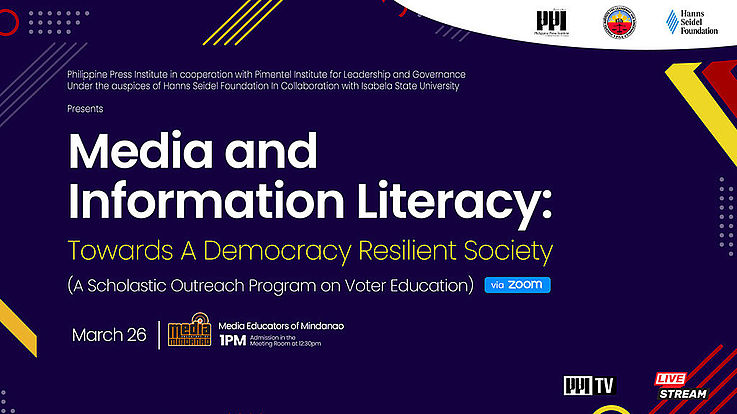 Scholastic Seminar Series Seeks to Develop the Academe's Media and Information Literacy