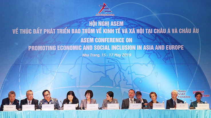 Promotion of economic and social inclusion in Asia and Europe for the future