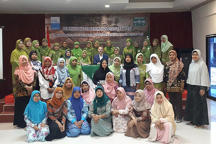 Participants of the workshop in Indramayu.