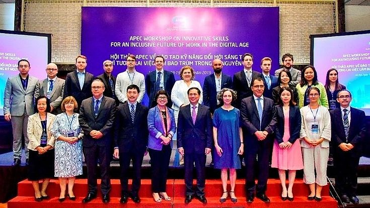 Representatives of the member countries of APEC and experts came together to discuss the future of work in the Digital Age