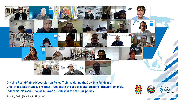 On-line Conference to Discuss Police Training during the Pandemic