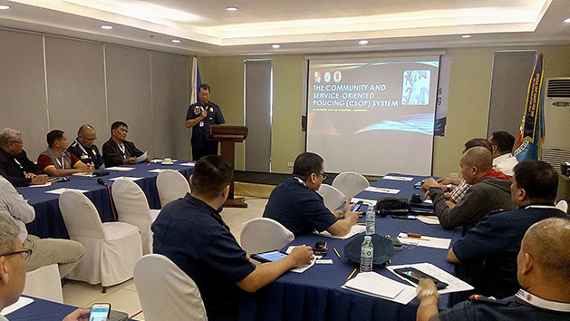 """""""If the police adhere to the rule of law, they demonstrate their respect for human rights.""""- Police Chief Superintendent Erickson Velasquez"""
