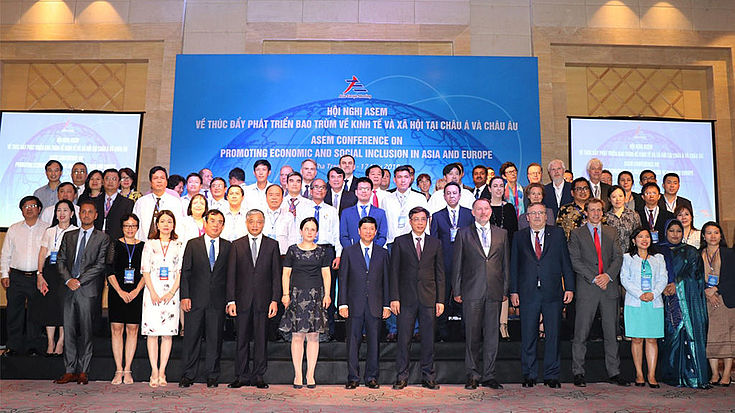 Representatives from all ASEM member countries came together in Nha Trang City