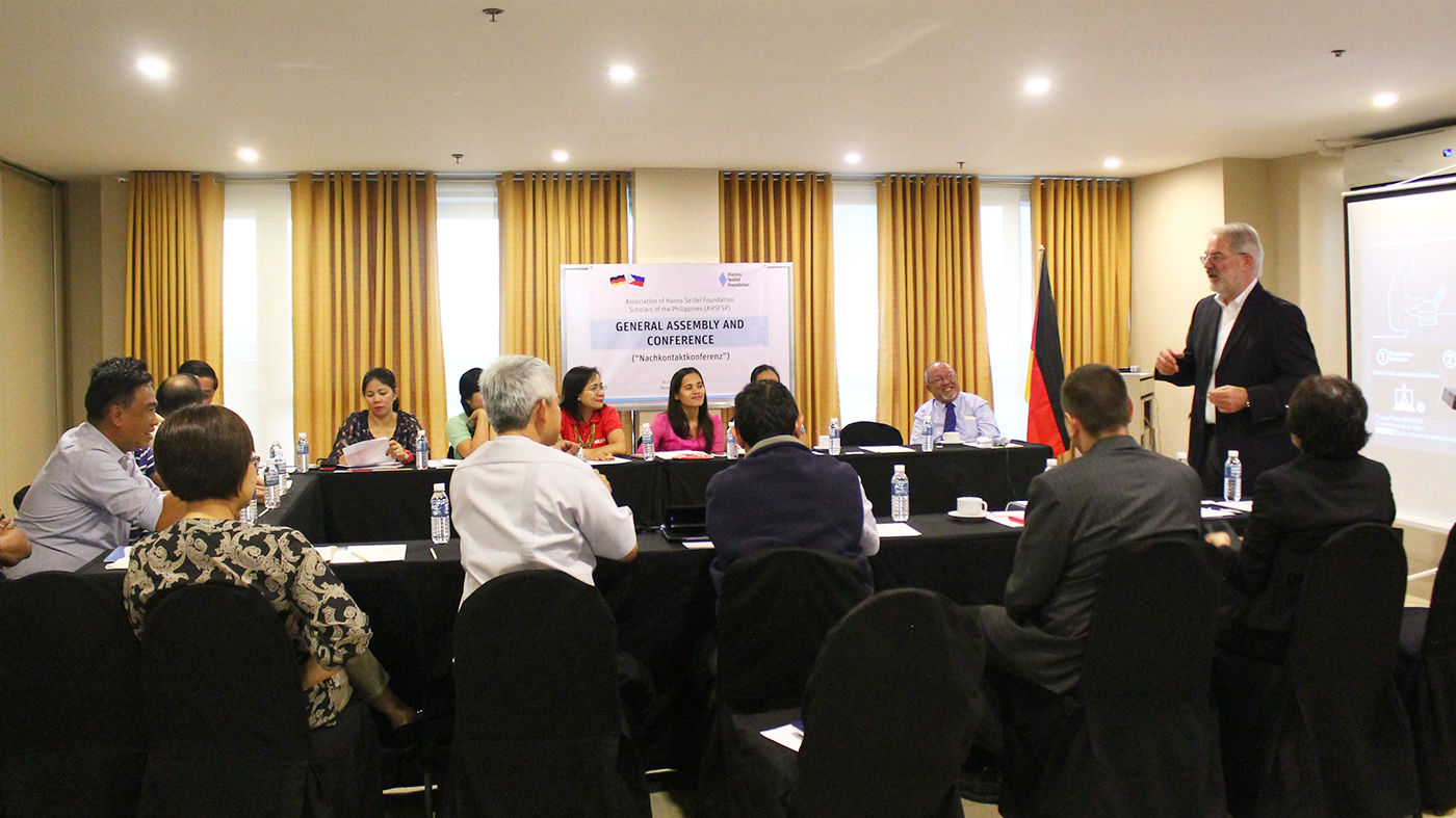 Association of Hanns Seidel Foundation Scholars of the Philippines's General Assembly