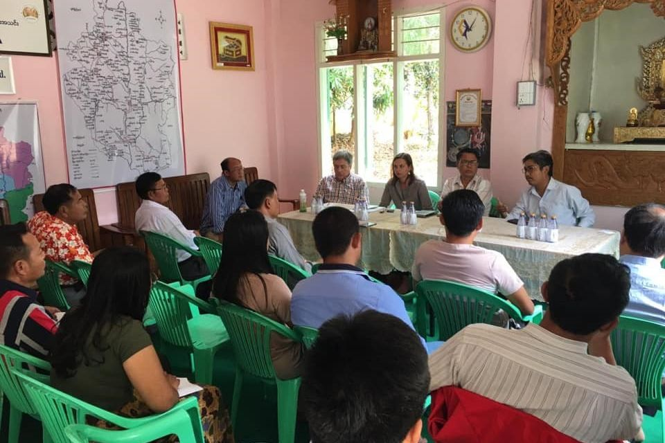 The meeting took place in Loikaw, Kayah State