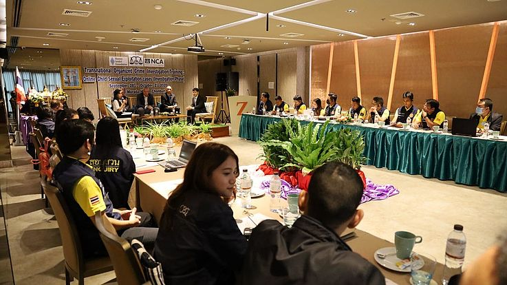 2nd Investigation Training workshop on Transnational Organised Crime