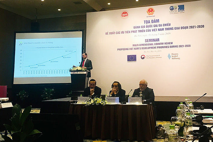 The multi-dimensional Review of Vietnam has been presented by OECD.