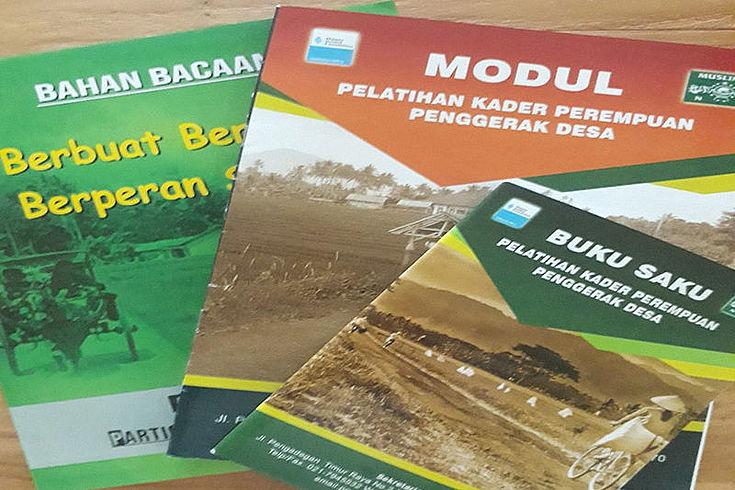 The three new training modules.