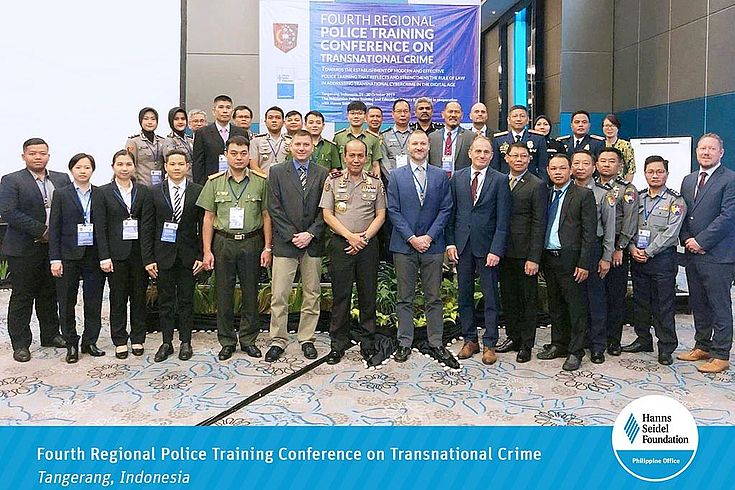 Fourth Regional Police Training Conference on Transnational Crime in Tangerang, Indonesia