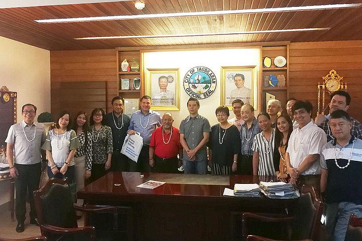 Courtesy call on Mayor John Geesnell L. Yap II of the City of Tagbilaran