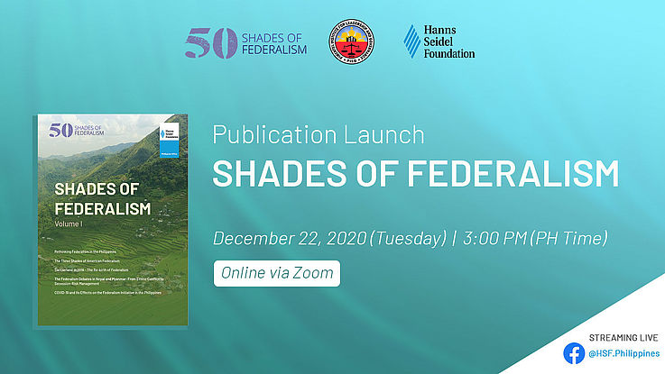 """""""Shades of Federalism"""" is introduced to Philippine academia and the public"""