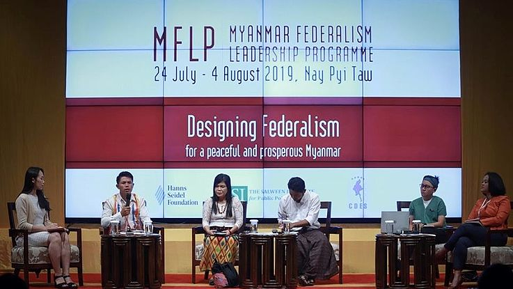 Five experts shared their knowledge on peace building