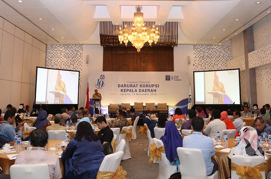 The Keynote Speech was delivered by the Chairman of the Board of the Habibie Center Prof. Dr. Sofian Effendi.