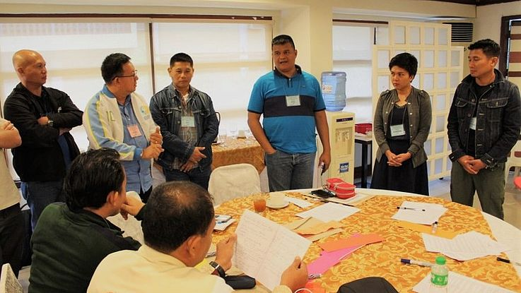 3rd leg of the CBD Multi-sectoral Training on Economic, Social and Cultural Rights held for Western Visayas