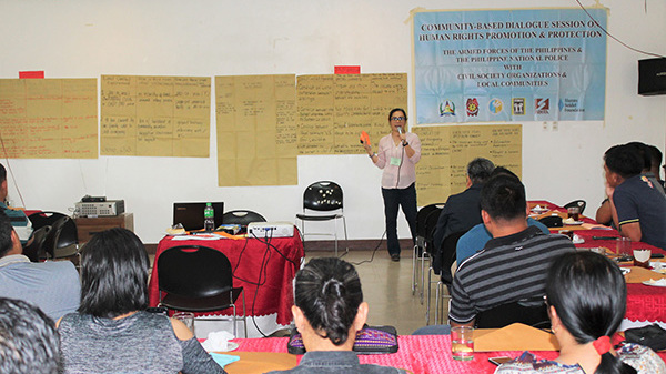 CBD holds pilot training on Economic, Social and Cultural Rights