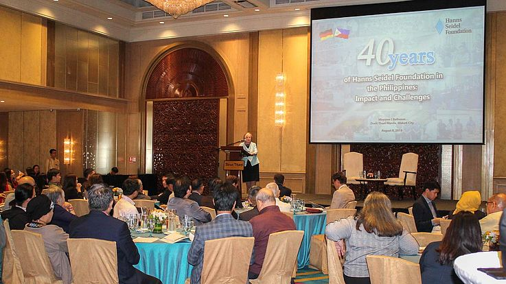 HSF Chairwoman leads 40th Anniversary of Development Cooperation with the Philippines