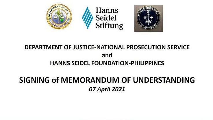 MoU further extends National Prosecution Service – Hanns Seidel Foundation partnership