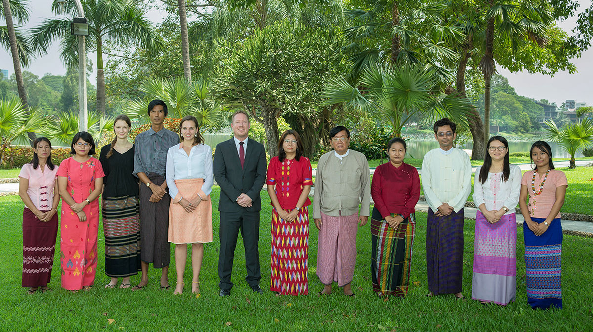 Myanmar Group Photo
