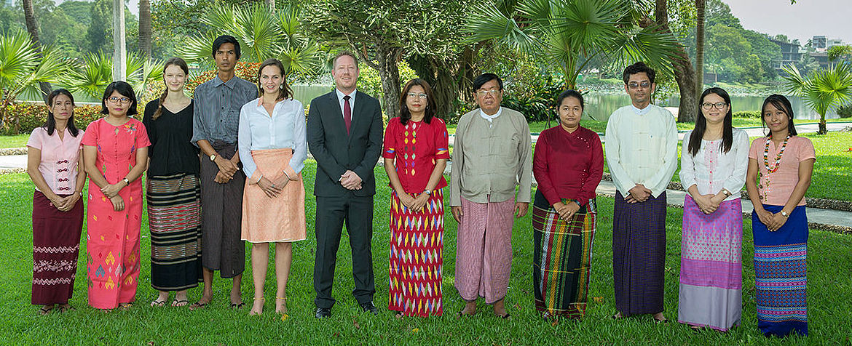 HSF Myanmar Team Photo