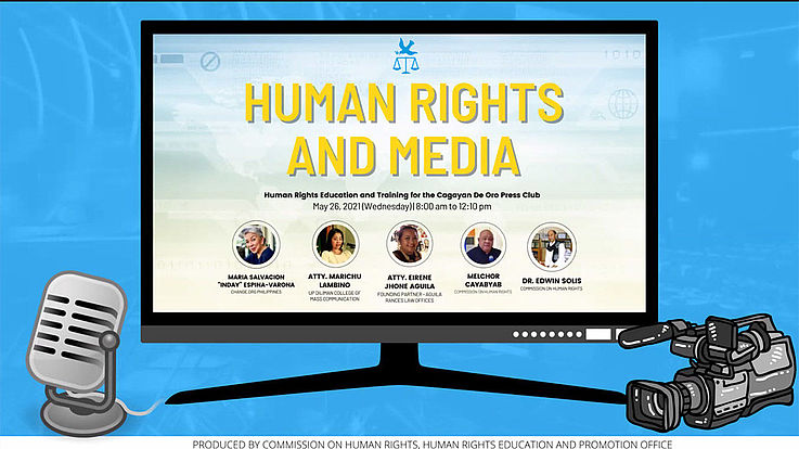 Discussion on human rights and the protection thereof for media practitioners