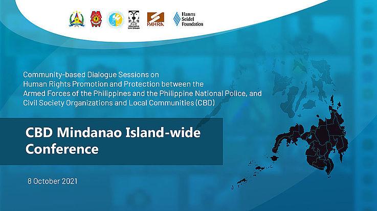 CBD holds Mindanao Island-wide Conference