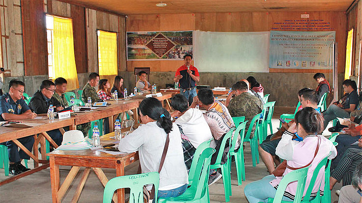 Cordillera Core Group holds CBD in Tinoc, Ifugao