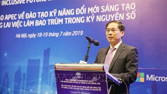 Mr. Bui Thanh Son, First Vice Minister of Foreign Affairs Vietnam, about the importance of preparing for fundamental changes