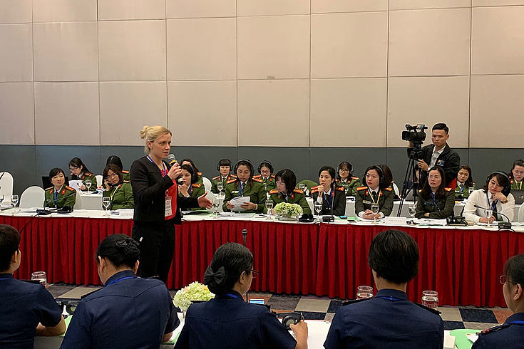 Second Regional Conference on the Role of Women in the Police Force in Hanoi, Vietnam