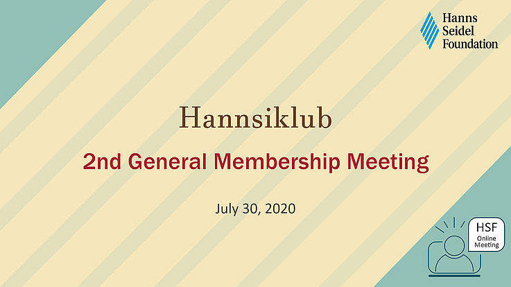 Hannsiklub Members Reconnect Online after Four Months under Quarantine