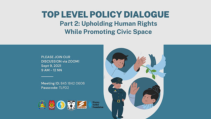 Top-Level Policy Dialogue Promotes Democratic Civic Space