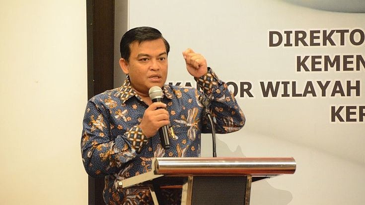 Keynote Speech by Prof. Dr. Widodo Ekatjahtjana, Directorate General of the Ministry of Law and Human Rights