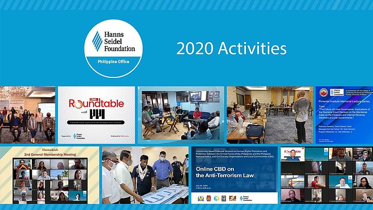 Highlight of the HSF Philippine Activities in 2020